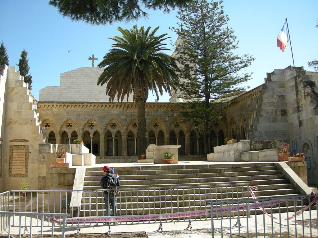 1200px-Church_of_the_Pater_Noster_(Jerusalem)3007